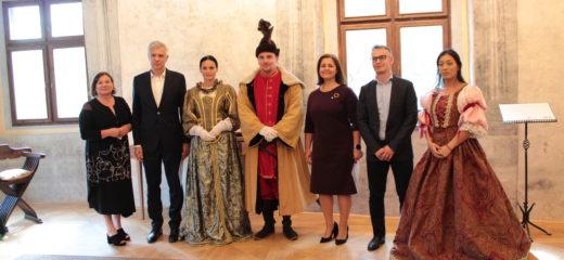 Minister zahraničných vecí SR na návšteve Oravského hradu
