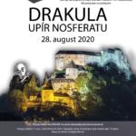 2020 plagát na drakulu