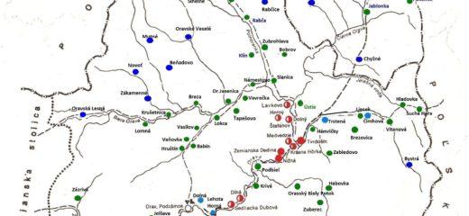Stručný prierez  osídlením oravského regiónu