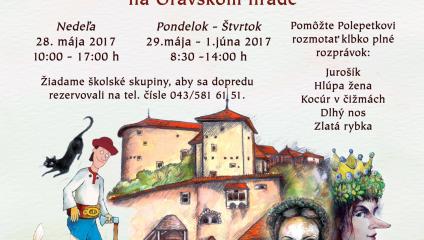 Deň detí na Oravskom hrade a na Oravskej lesnej železnici