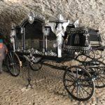 hrad pohrebný koč