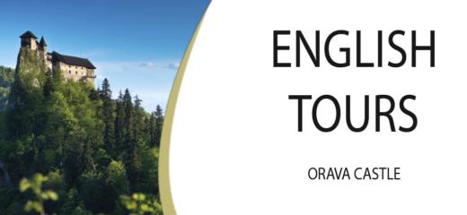 English tours of Orava Castle