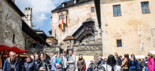 Oravský hrad počas víkendu 28.04. a 29.04.2018 symbolicky otvára brány pre návštevníkov
