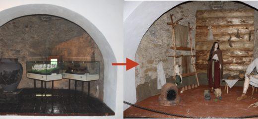 Expozícia archeológie na Oravskom hrade obohatená o rekonštrukciu obydlia z doby bronzovej