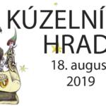 Banner k podujatiu kúzelník na hrade 2019