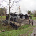 OLž POžIARGoralská drevenica po požiari