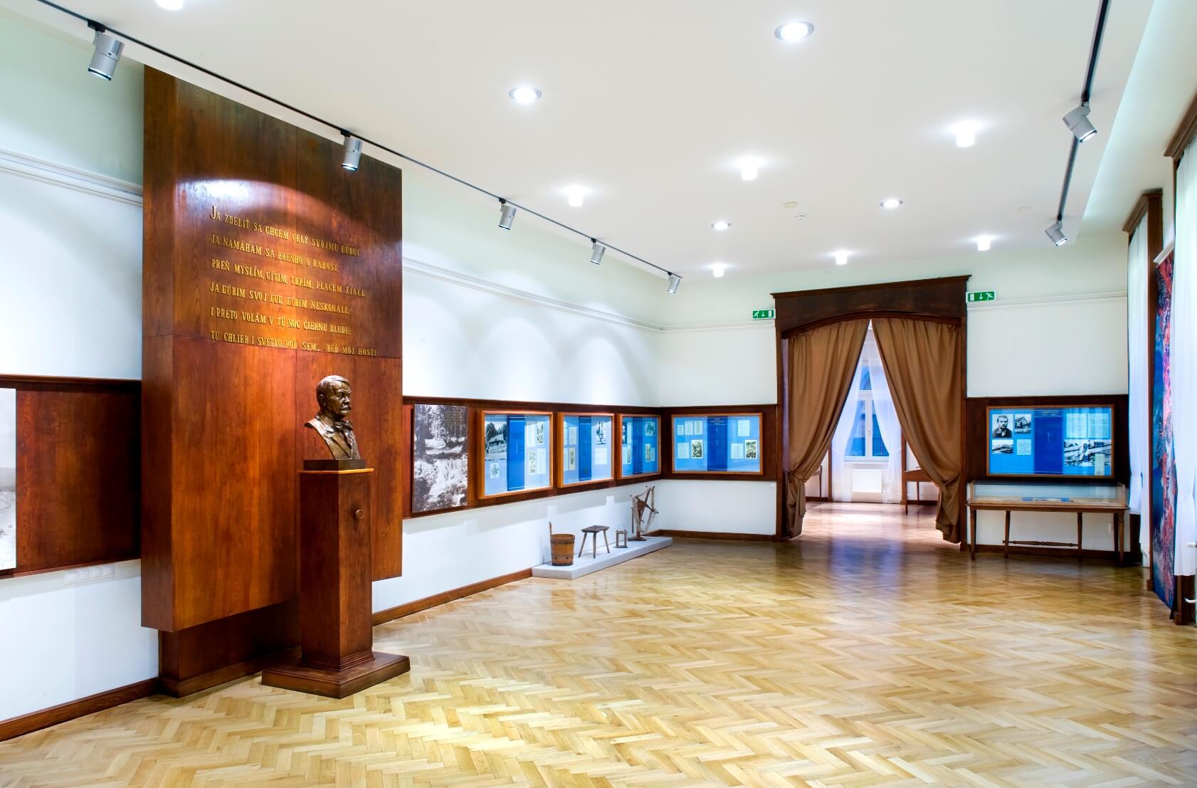 Expozícia Hviezdoslava