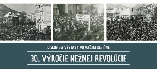 30. výročie Nežnej revolúcie