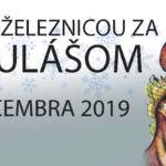 Banner k podujatiu Lesnou železnicou za Mikulášom